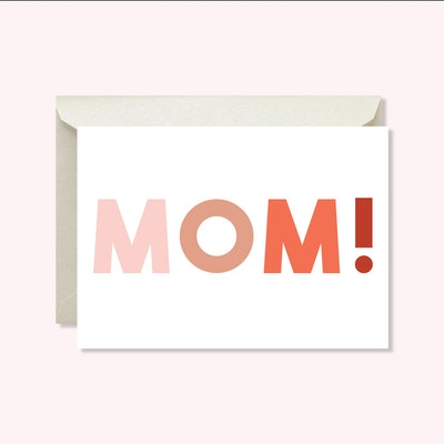 MckaylPaperCo Mom! Printable Mother's Day Card