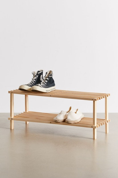 Helga Wood Shoe Rack