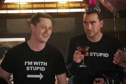 Patrick and David Rose in 'Schitt's Creek' Season 6