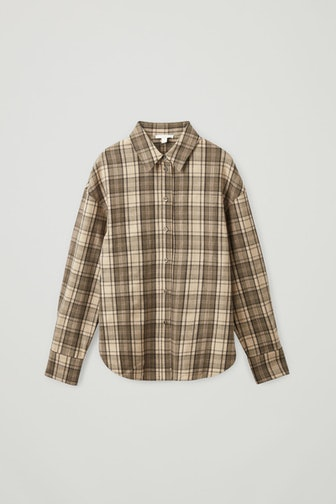 Checked Wool Shirt
