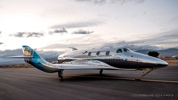 The Virgin Galactic VSS Imagine Spaceship