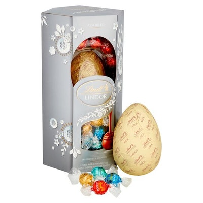 Lindt Milk Chocolate Egg With Assorted Truffles