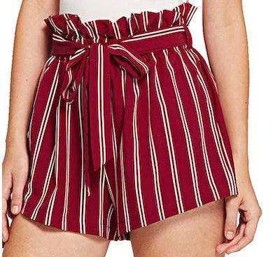 SweatyRocks Elastic Waist Shorts