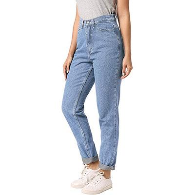 ruisin Classic High Waist Vintage Jeans