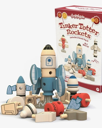 Tinker Totter Rockets - 31 Piece Character Playset