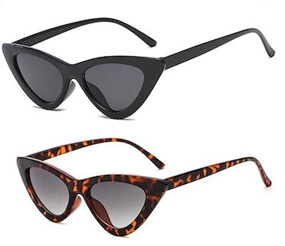 YOSHYA Cat Eye Sunglasses (2-Pack)