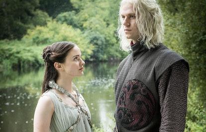 Lyanna Stark and Rhaegar Targaryen in Game of Thrones