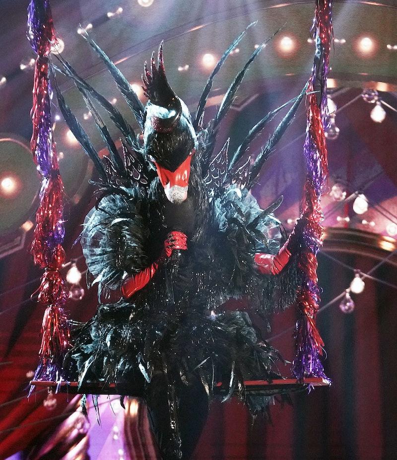 Black Swan singing in 'Masked Singer' Season 5, via FOX press site.