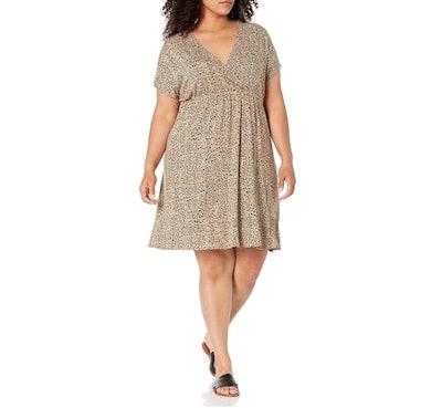 Amazon Essentials Plus Size Surplice Dress