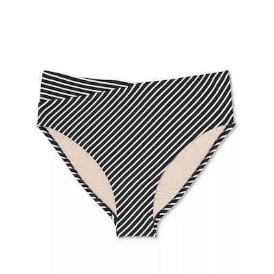 Plus Size High Waist Bikini Bottom