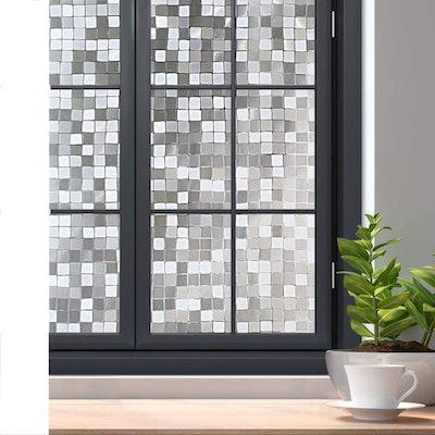 rabbitgoo 3D Decorative Privacy Window Film
