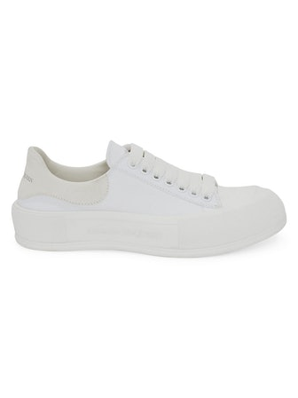 Plimsol Leather Sneakers