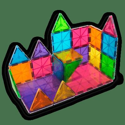 Magna-Tiles Clear Color 32-Pc. Set