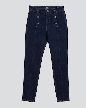 Poppy High Rise Sailor Skinny Jeans