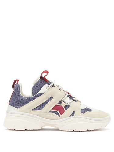 Kindsay Suede and Mesh Trainers