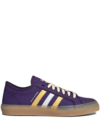 Purple Nizza Lo Sneakers