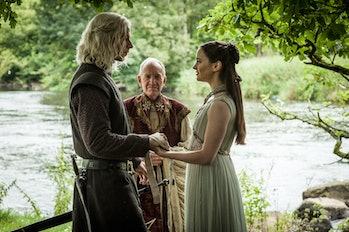 Rhaegar Targaryen and Lyanna Stark in 'Game of Thrones'