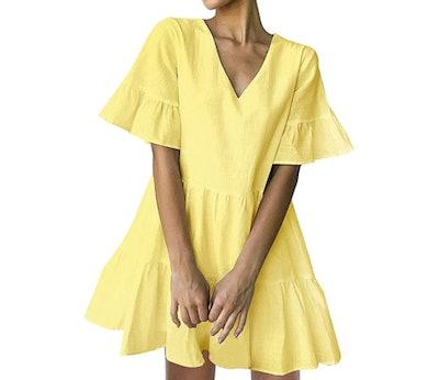 FANCYINN Bell Sleeve Dress