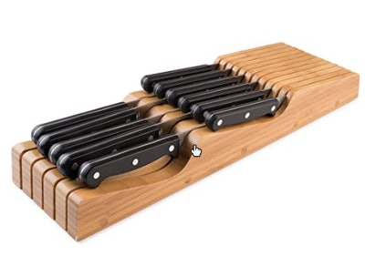 Bellemain 100% Pure Bamboo in Drawer Knife Block