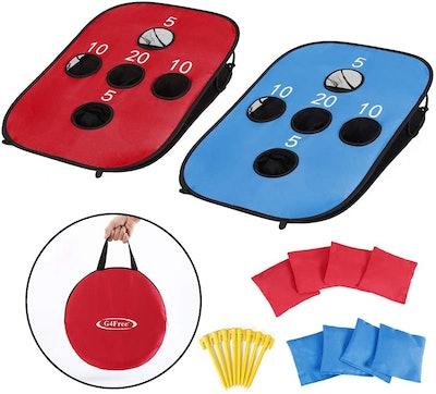 G4Free Portable Cornhole Set