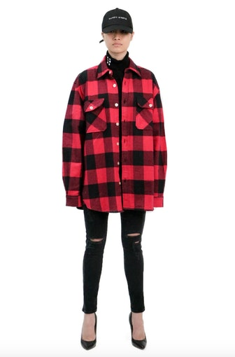 Flannel Logo Shirt