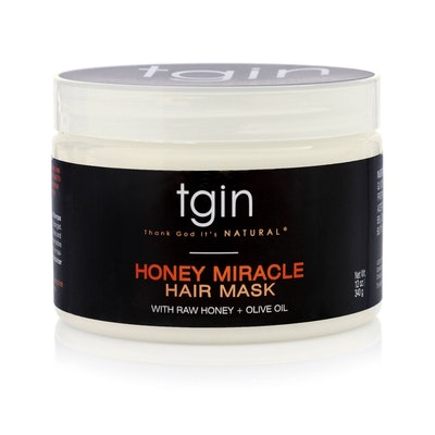 Honey Miracle Hair Mask with Raw Honey + Olive Oil Deep Conditioner