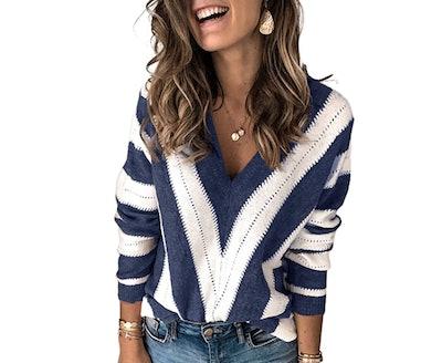 Asvivid V-Neck Sweater