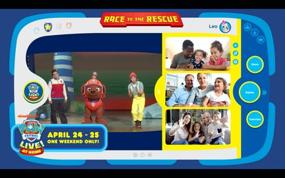 'PAW Patrol Live!' At Home brings 'PAW Patrol Live' into people's homes.