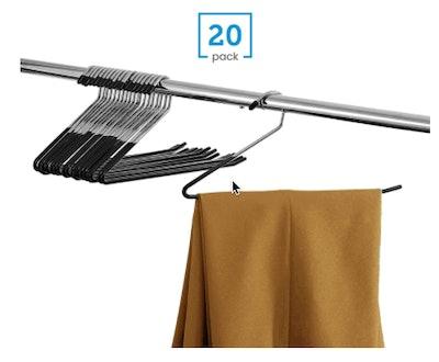 ZOBER Slack/Trousers Pants Hangers (20-Pack)