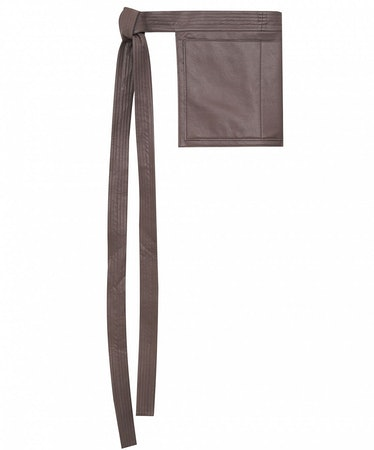 Eco-Leather Bag-Basque in Grey