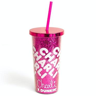 Charli x Dunkin' Acrylic Sparkle Tumbler (20 Ounces)