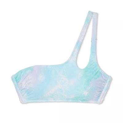 Juniors' One Shoulder Bikini Top