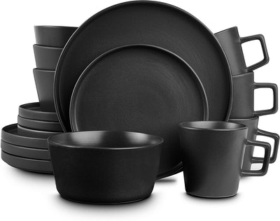 Stone Lain Coupe Dinnerware Set, Service For 4