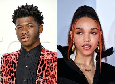 "Lil Nas X and FKA Twigs addressed the similarities between their ""Call Me By Your Name"" and ""Cellophane"" videos, respectively."