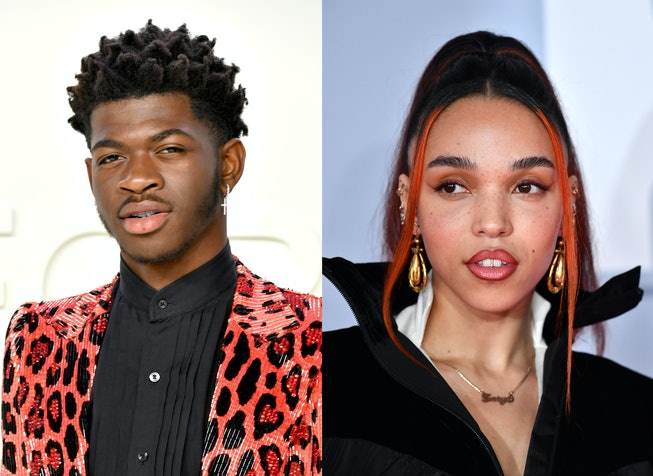 """Lil Nas X and FKA Twigs addressed the similarities between their """"Call Me By Your Name"""" and """"Cellophane"""" videos, respectively."""
