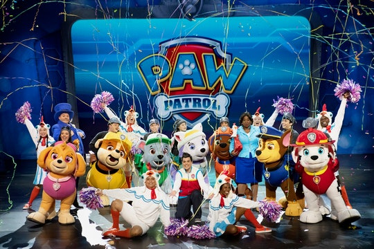 'Paw Patrol' Live! will stream in homes on April 24 and 25.