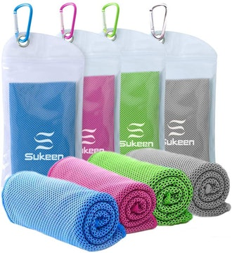 Sukeen Cooling Sport Towel (4-Pack)
