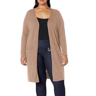 Amazon Essentials Plus Size Lightweight Long Cardigan