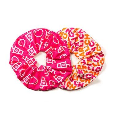 Charli x Dunkin' Oversized Scrunchie Set ( 2 pieces )