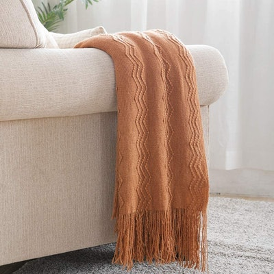 Bourina Knitted Decorative Blanket