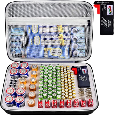 PAIYULE Battery Organizer Case