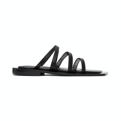 Flat Apartment wide sole strappy sandals