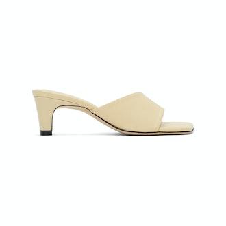 Low Classic heeled slide sandals