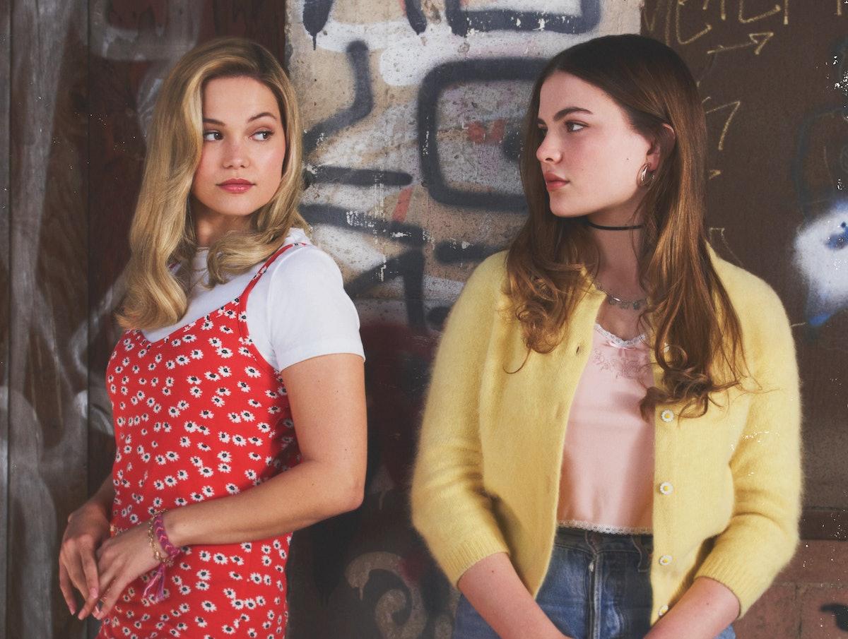 Olivia Holt as Kate Wallis and Chiara Aurelia as Jeanette Turner in Freeform's 'Cruel Summer'