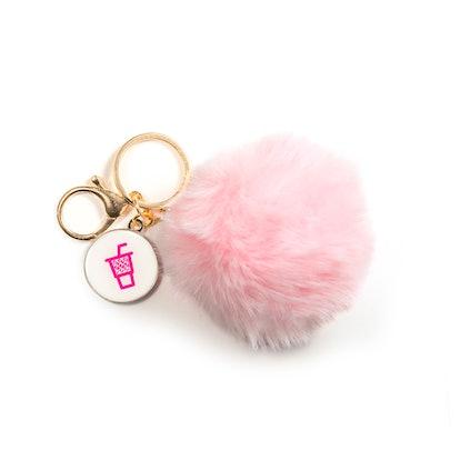 Charli x Dunkin' Pom Pom Keychain