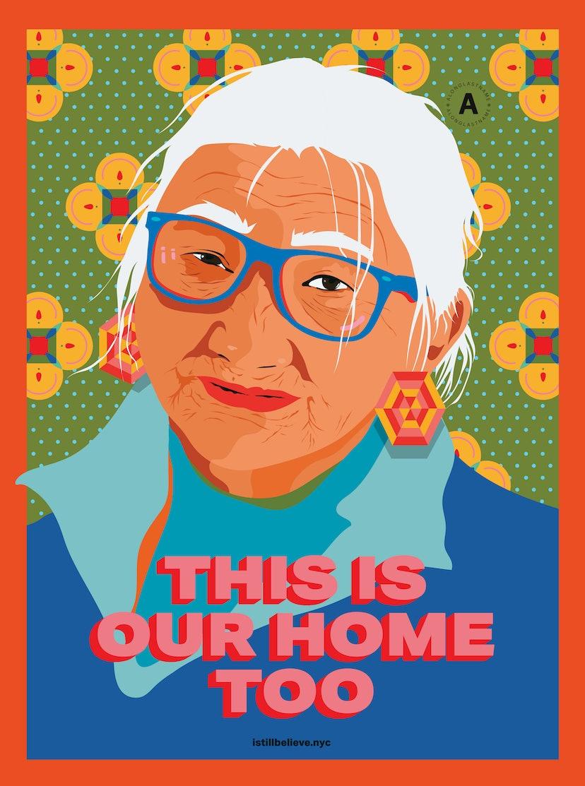 Amanda Phingbodhipakkiya created posters for the I Still Believe campaign.