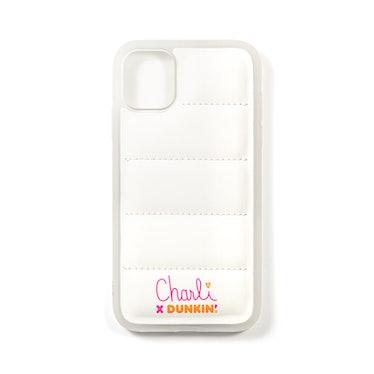 Charli x Dunkin' Puffer iPhone Case (iPhone 11 & iPhone 12)