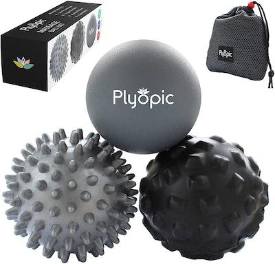Plyopic Deep Tissue Massage Ball Set