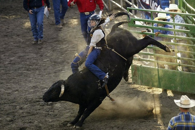 California's Golden State Gay Rodeo Association holds an annual rodeo for LGBTQ rodeo riders.