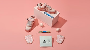 Bad Bunny pink Adidas Forum Low sneaker shoes